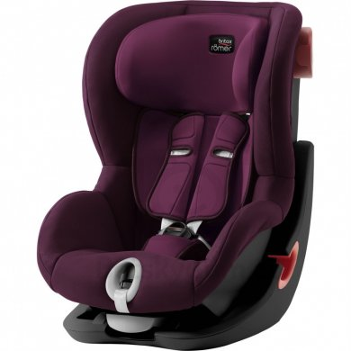 Britax Römer King II Black Edition - Burgundy Red 2020 AKCE