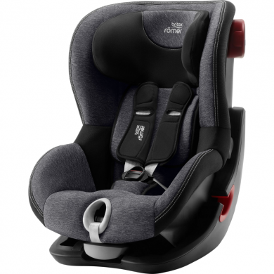 Britax Römer King II Black Edition - Graphite Marble 2020 AKCE