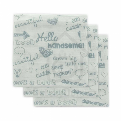 Little Lemonade pleny 3ks 70 x 70 cm - Quotes Blue