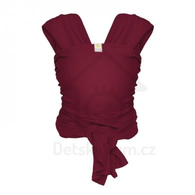 ByKay Stretchy Wrap DeLuxe šátek - Vel. L, Berry Red