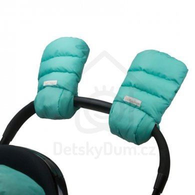 7AM Enfant rukavice na kočárek WarMMuff - Teal